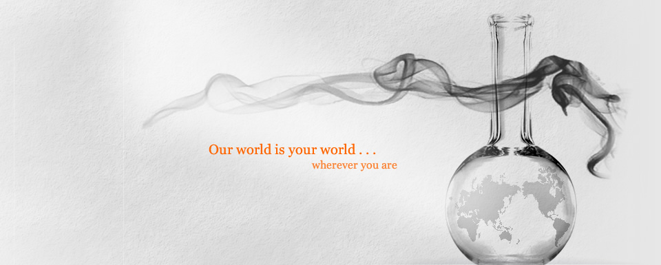 Our world is your world ...wherever you are